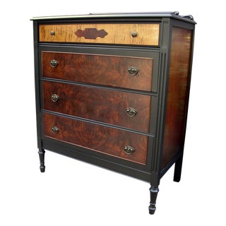 Heirloom Walnut Vintage Dresser