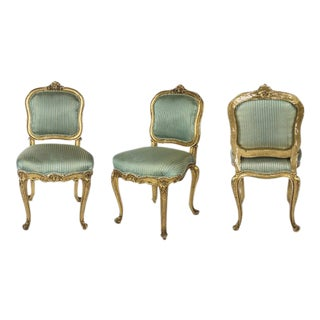 Original 17th Century Louis XV Chairs - A Pair