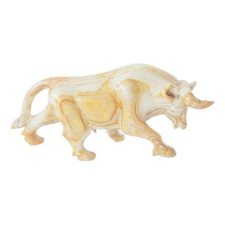 Decorative Marble Bull