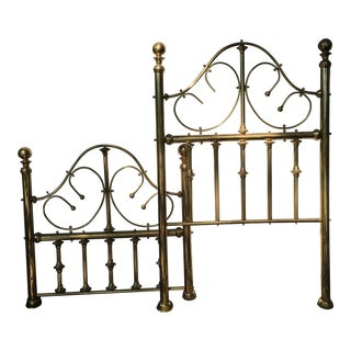 Vintage Brass Twin Bed