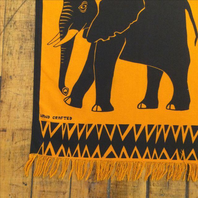 Vintage Silkscreen Wall Hanging - Image 3 of 7