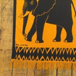 Image of Vintage Silkscreen Wall Hanging