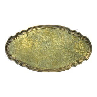 Regency Style Brass Serving Tray