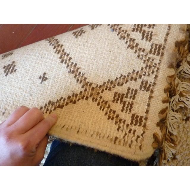 Vintage Handmade Moroccan Rug - Image 9 of 9