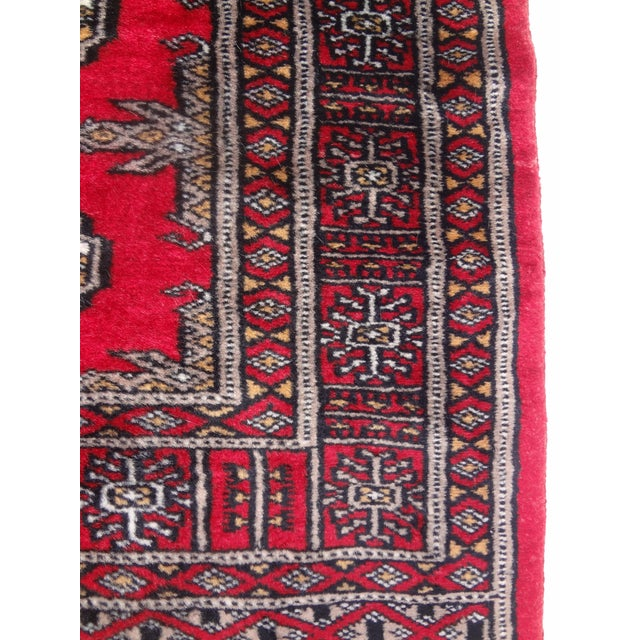 """Hand-Knotted Red Runner Rug - 2'6 x 6'4"""" - Image 8 of 11"""