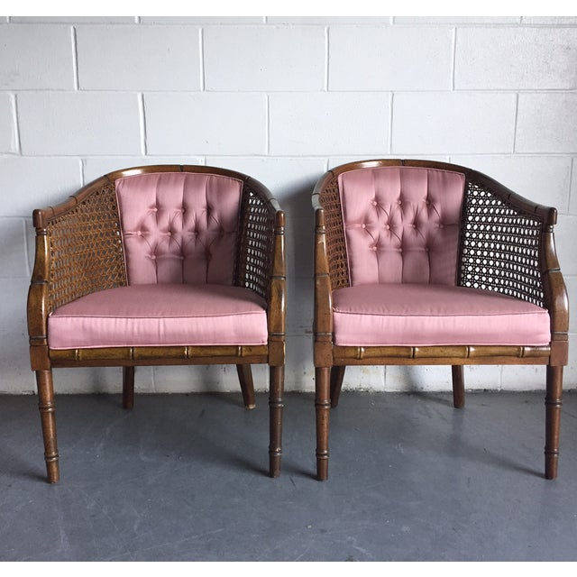 Hollywood Regency Vintage Chairs - a Pair - Image 2 of 8
