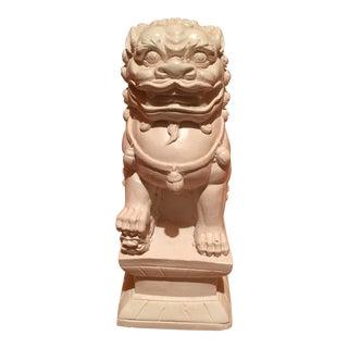 Asian Modern Plaster Foo Dog