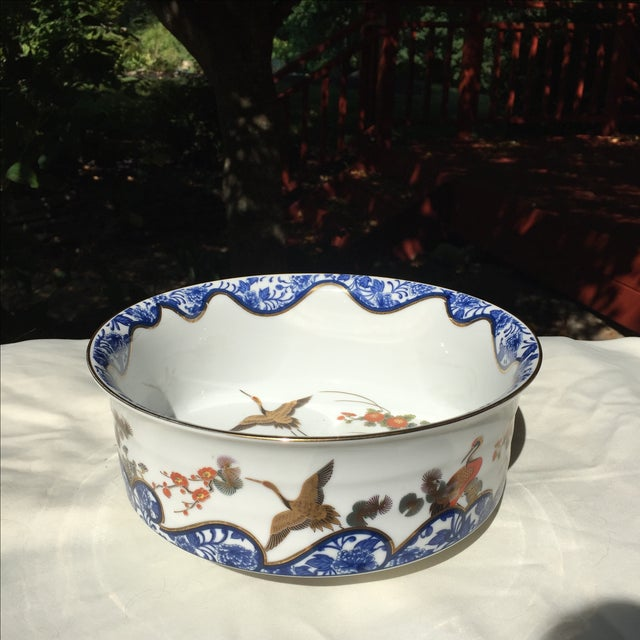 Chinoiserie Gold Leaf Bowl - Image 2 of 5