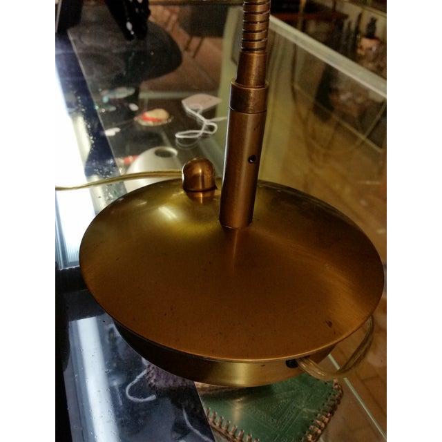 Levenger Brass Gooseneck Reading Lamp - Image 5 of 7