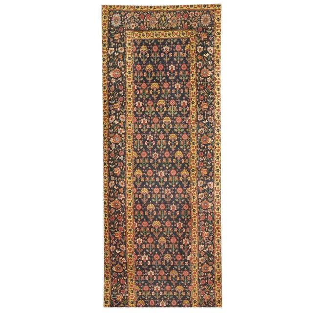 Exceptional Antique Mid-19th Century Persian Joshegan Runner - Image 1 of 2