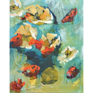 """Summer 4,"" Multimedia Painting"