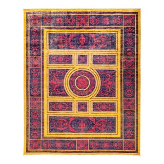 "Suzani, Hand Knotted Area Rug - 8' 0"" x 9' 10"""