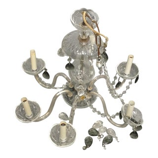 Antique Crystal Bohemian Chandelier
