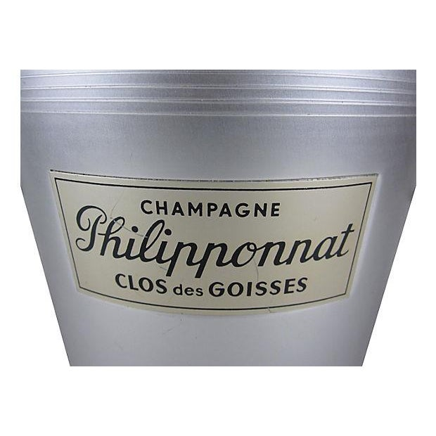 Image of Philipponnat French Champagne Chiller/ Ice Bucket