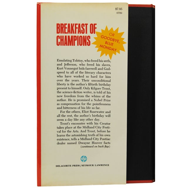 Breakfast of Champions by Vonnegut, 1st Edition - Image 4 of 7