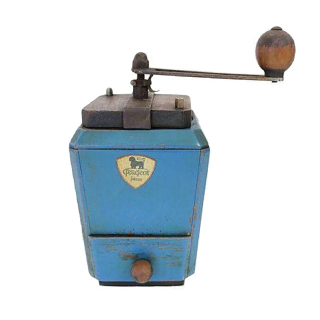 Image of Vintage French Peugeot Le Ric Coffee Grinder
