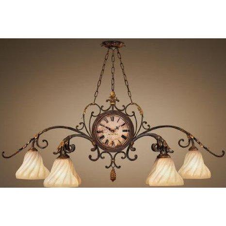 Fine Art Lamps Antiqued Iron Chandelier - Image 2 of 10