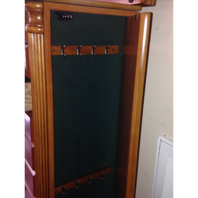 Emily Powell Wood Jewelry Cabinet - Image 8 of 8
