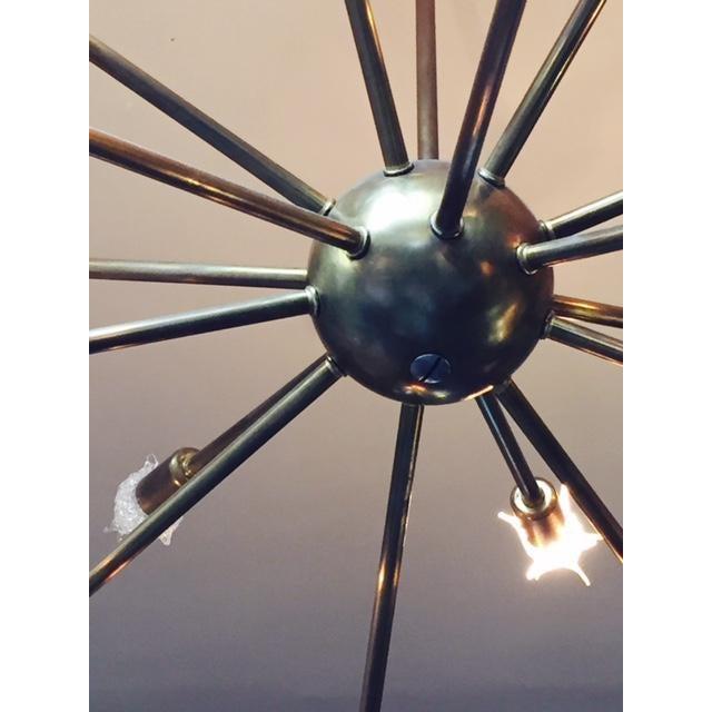 Image of Vintage Mid-Century Sputnik Chandelier