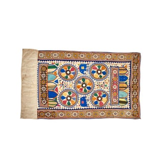 Antique Gujarati Embroidered Wall Hanging