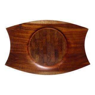 Jens Quistgaard Limited Edition Rare Dansk Modern Mutenye Wood Tray
