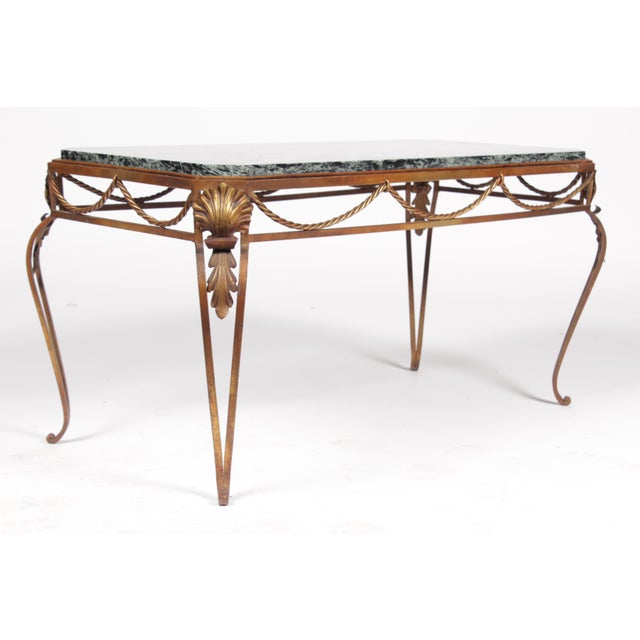 Vintage Italian Style Gold Coffee Table - Image 3 of 7