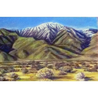 Eastern Sierra Pastel Drawing