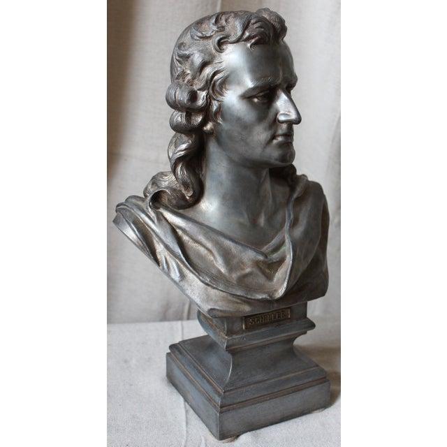 Spelter Bust of Schiller - Image 3 of 10