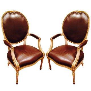 John Widdicomb Vintage Occasional Chairs - A Pair