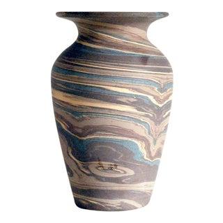 Antique Niloak Mission Swirl Vase