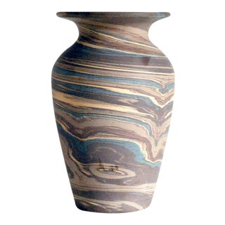 Antique Niloak Mission Swirl Vase