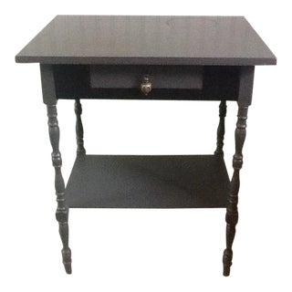 Vintage Painted Gray Table
