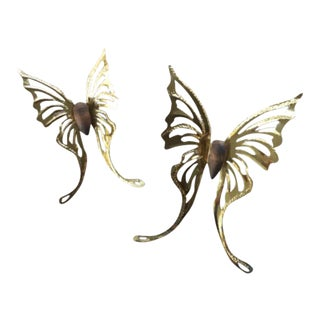 Vintage Butterfly Wall Decors - A Pair