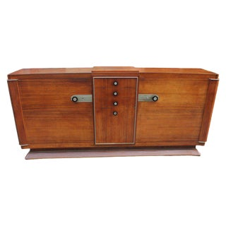 Unique French Art Deco Masterpiece Sideboard / Buffet by Dominique, circa 1938s.