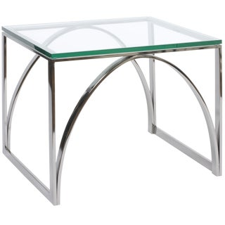 Vanguard Sydney Black Nickel End Table