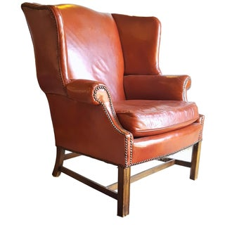 Red English Armchair