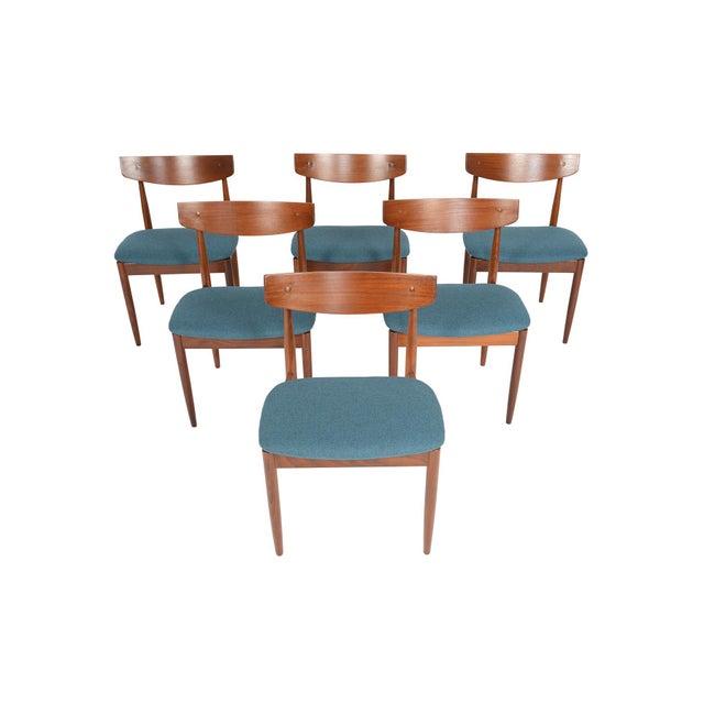 Ib Kofod- Larsen for G Plan Teak Dining Chairs - Set of 6 - Image 8 of 8