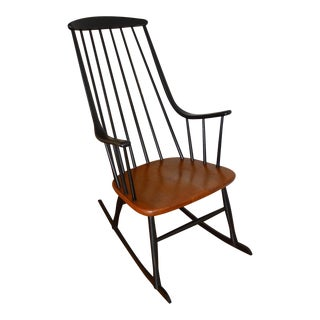 Lena Larsson Swedish Modern Rocking Chair