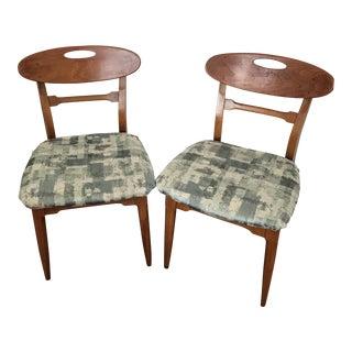 Mid-Century Danish Modern Chairs - A Pair