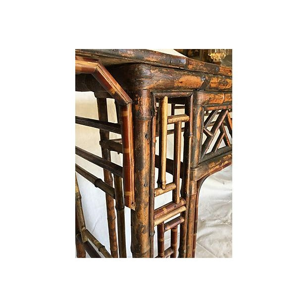 Early 19th Century Chinese Bamboo Altar Table - Image 6 of 7