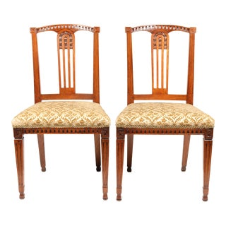 C. 1780 Georgian Dutch Chairs - A Pair
