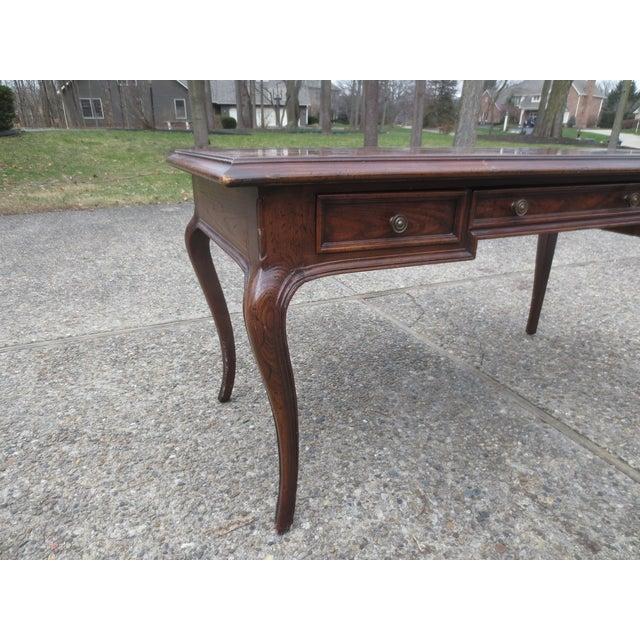 Vintage Henredon Desk From Indiana Governor - Image 3 of 8