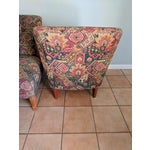 Image of Drexel Heritage Vintage Slipper Chairs - A Pair