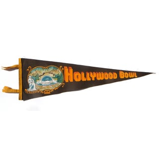 Hollywood Tourist Pennant