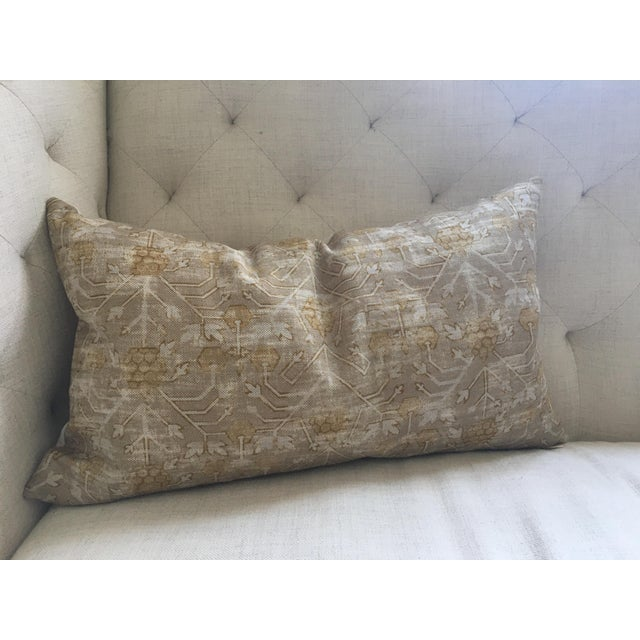 "Zak & Fox Khotan Custom Pillow Cover - 24""x14"" - Image 6 of 8"