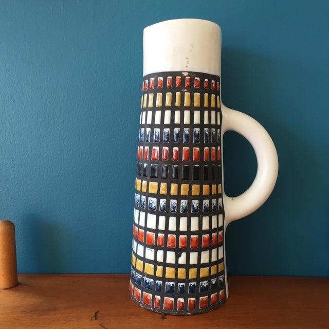 Image of Roger Capron Big Multicolored Ceramic Pitcher