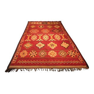 1950's Bellwether Rugs Moroccan Runner - 6'x10'5