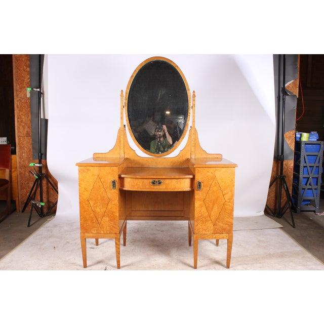 Hollywood Regency-Style Dressing Table - Image 2 of 5