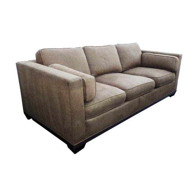"Baker ""Modern Reed"" Sofa by Barbara Barry - Image 2 of 9"