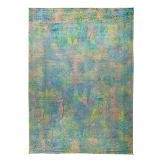 Vibrance Over Dyed Hand Knotted Area Rug - 9' x 12'4""